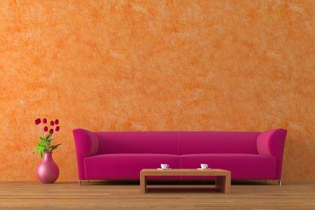 Modern interior Stock Photo - 4007830