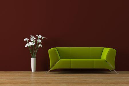 Das moderne Interieur Standard-Bild - 4007827