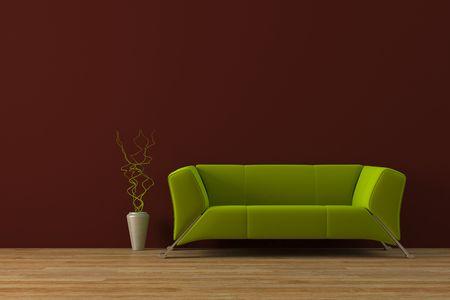 Modernes Interieur Standard-Bild - 4007826