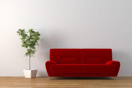 Modern interior Stock Photo - 4038297