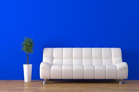 Modernes Interieur Standard-Bild - 4038301