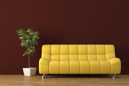 Modernes Interieur Standard-Bild - 4038302