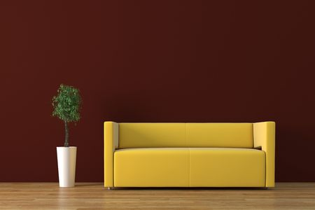 Modernes Interieur Standard-Bild - 4038298