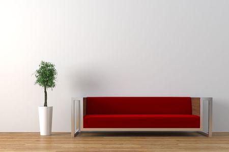 Das moderne Interieur Standard-Bild - 4660364