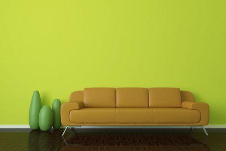 Modern interior  Standard-Bild - 6383174