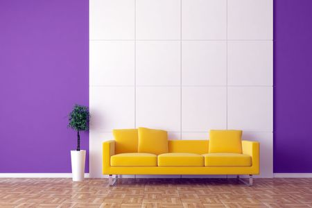 Modern inter with sofa Stock Photo - 7925152