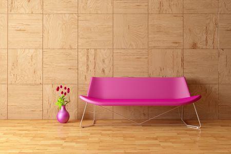 Modern Interior mit sofa  Standard-Bild - 7925154