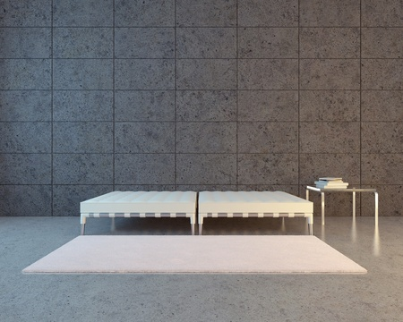 Modernes städtischen Interieur Standard-Bild - 10196863