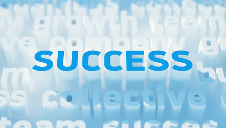 to keyword: Success keyword Stock Photo