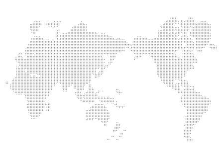 Weltkarte Vektor- Standard-Bild - 27690031