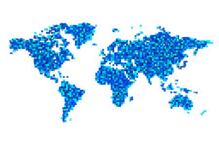 rural india: 3D World Map