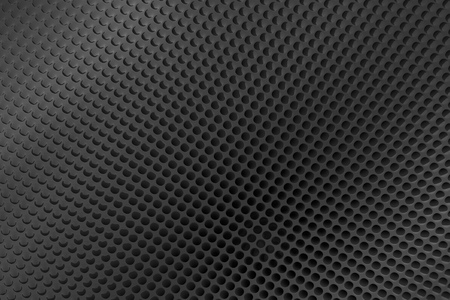 perforated: Abstract perforated metal background