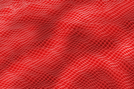 Abstract perforated metal background photo