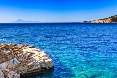 Beautiful and undiscovered Thassos, Greece Banco de Imagens