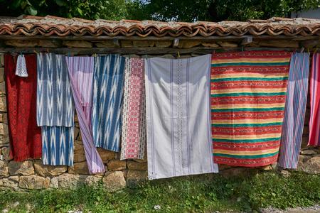 Traveling in Beautiful and undiscovered Architectural reserve village Arbanasi near Veliko Tarnovo Stock Photo