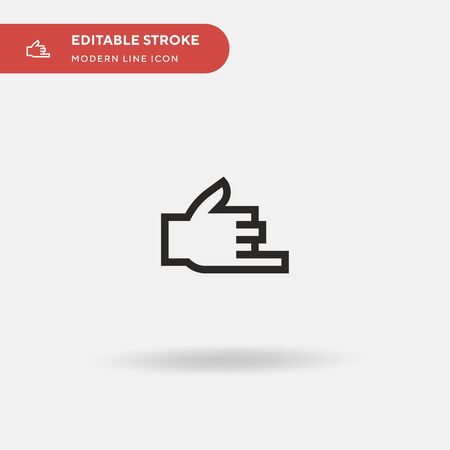 Call Simple vector icon. Illustration symbol design template for web mobile UI element. Perfect color modern pictogram on editable stroke. Call icons for your business project Ilustrace