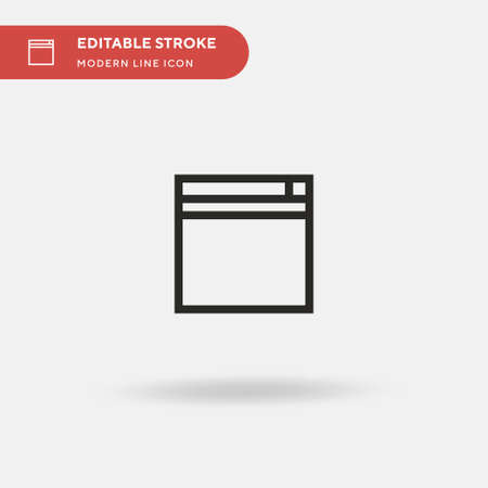 Shopping Simple vector icon. Illustration symbol design template for web mobile UI element. Perfect color modern pictogram on editable stroke. Shopping icons for your business project