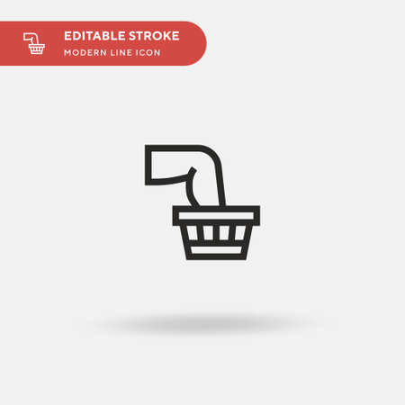 Therapy Simple vector icon. Illustration symbol design template for web mobile UI element. Perfect color modern pictogram on editable stroke. Therapy icons for your business project