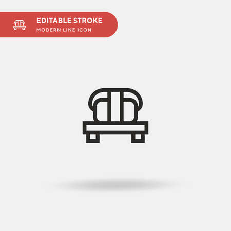Nigiri Simple vector icon. Illustration symbol design template for web mobile UI element. Perfect color modern pictogram on editable stroke. Nigiri icons for your business project Ilustrace