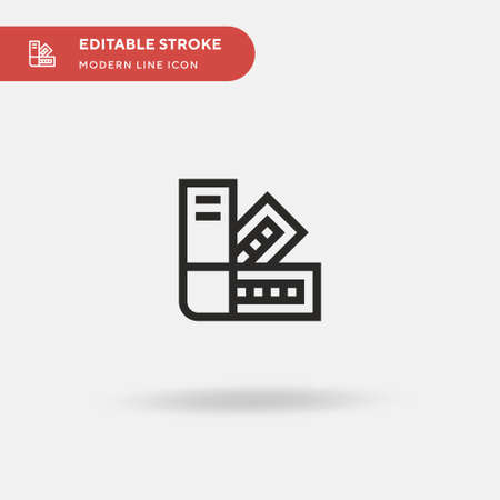 Simple vector icon. Illustration symbol design template for web mobile UI element. Perfect color modern pictogram on editable stroke.  icons for your business project