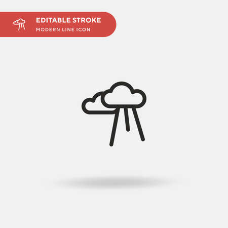 God Simple vector icon. Illustration symbol design template for web mobile UI element. Perfect color modern pictogram on editable stroke. God icons for your business project