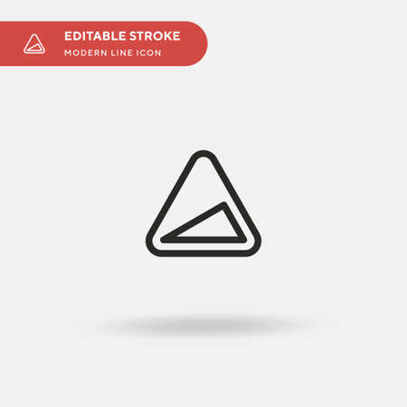 Ascend Simple vector icon. Illustration symbol design template for web mobile UI element. Perfect color modern pictogram on editable stroke. Ascend icons for your business project