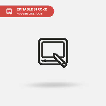 Magnetic Simple vector icon. Illustration symbol design template for web mobile UI element. Perfect color modern pictogram on editable stroke. Magnetic icons for your business project