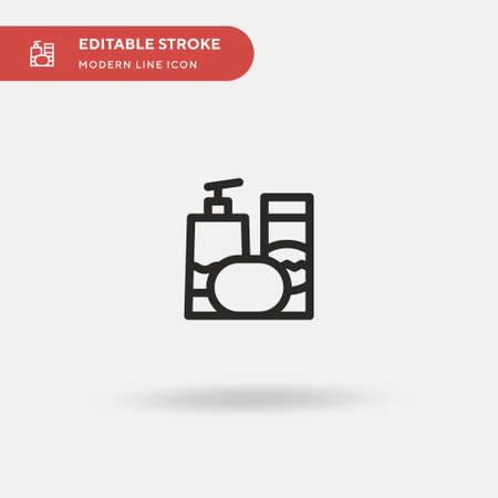 Baby Simple vector icon. Illustration symbol design template for web mobile UI element. Perfect color modern pictogram on editable stroke. Baby icons for your business project