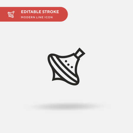Childhood Simple vector icon. Illustration symbol design template for web mobile UI element. Perfect color modern pictogram on editable stroke. Childhood icons for your business project Ilustrace