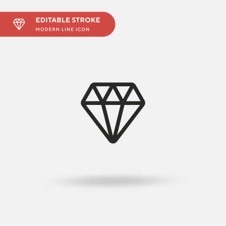 Value Simple vector icon. Illustration symbol design template for web mobile UI element. Perfect color modern pictogram on editable stroke. Value icons for your business project