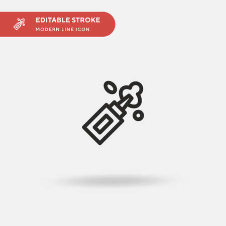 Water Simple vector icon. Illustration symbol design template for web mobile UI element. Perfect color modern pictogram on editable stroke. Water icons for your business project