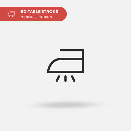 Steam Simple vector icon. Illustration symbol design template for web mobile UI element. Perfect color modern pictogram on editable stroke. Steam icons for your business project