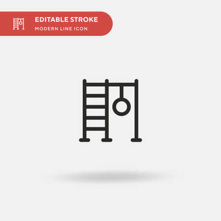 Swedish Simple vector icon. Illustration symbol design template for web mobile UI element. Perfect color modern pictogram on editable stroke. Swedish icons for your business project