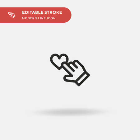 Rating Simple vector icon. Illustration symbol design template for web mobile UI element. Perfect color modern pictogram on editable stroke. Rating icons for your business project