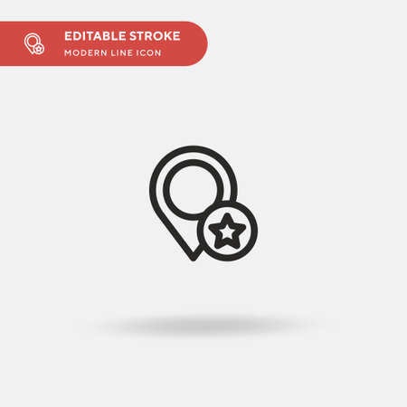 Placeholder Simple vector icon. Illustration symbol design template for web mobile UI element. Perfect color modern pictogram on editable stroke. Placeholder icons for your business project