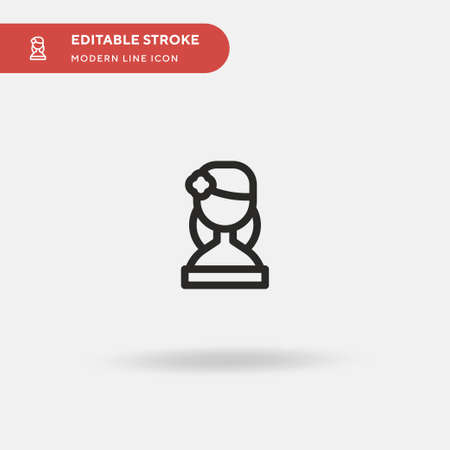 Mexican Simple vector icon. Illustration symbol design template for web mobile UI element. Perfect color modern pictogram on editable stroke. Mexican icons for your business project 스톡 콘텐츠 - 151139689