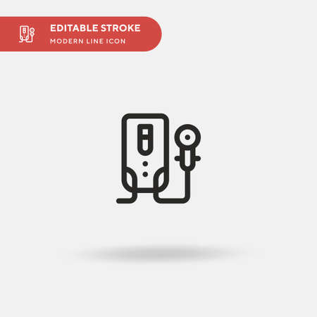 Bathroom Simple vector icon. Illustration symbol design template for web mobile UI element. Perfect color modern pictogram on editable stroke. Bathroom icons for your business project