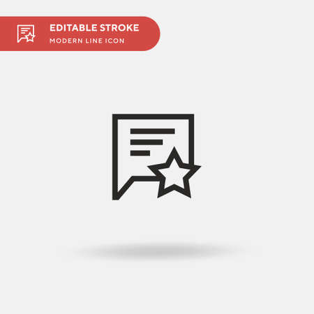 Chat Box Simple vector icon. Illustration symbol design template for web mobile UI element. Perfect color modern pictogram on editable stroke. Chat Box icons for your business project
