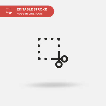 Coupon Simple vector icon. Illustration symbol design template for web mobile UI element. Perfect color modern pictogram on editable stroke. Coupon icons for your business project