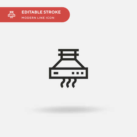 Range Simple vector icon. Illustration symbol design template for web mobile UI element. Perfect color modern pictogram on editable stroke. Range icons for your business project