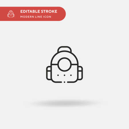 Cat Simple vector icon. Illustration symbol design template for web mobile UI element. Perfect color modern pictogram on editable stroke. Cat icons for your business project Stock Illustratie