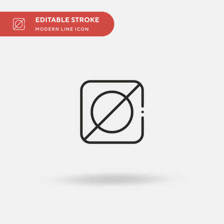 Invert Simple vector icon. Illustration symbol design template for web mobile UI element. Perfect color modern pictogram on editable stroke. Invert icons for your business project