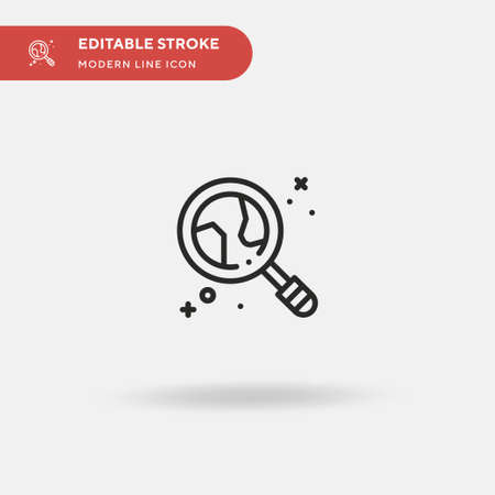 Astrology Simple vector icon. Illustration symbol design template for web mobile UI element. Perfect color modern pictogram on editable stroke. Astrology icons for your business project