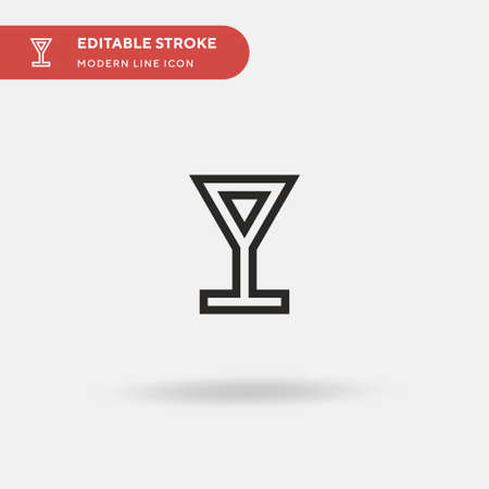 Hebe Simple vector icon. Illustration symbol design template for web mobile UI element. Perfect color modern pictogram on editable stroke. Hebe icons for your business project
