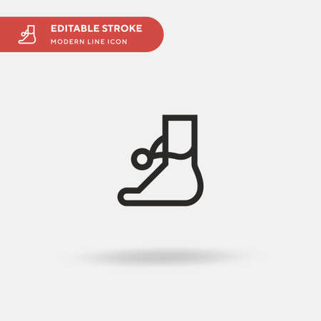 Jewel Simple vector icon. Illustration symbol design template for web mobile UI element. Perfect color modern pictogram on editable stroke. Jewel icons for your business project Ilustracja
