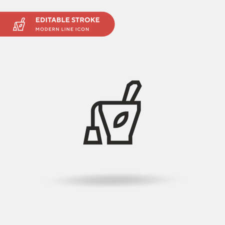 Infusion Simple vector icon. Illustration symbol design template for web mobile UI element. Perfect color modern pictogram on editable stroke. Infusion icons for your business project