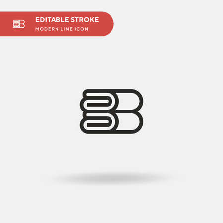 Animals Simple vector icon. Illustration symbol design template for web mobile UI element. Perfect color modern pictogram on editable stroke. Animals icons for your business project 일러스트
