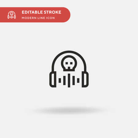 Drug Simple vector icon. Illustration symbol design template for web mobile UI element. Perfect color modern pictogram on editable stroke. Drug icons for your business project 向量圖像