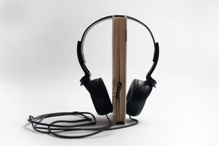 Audio Book Concept Zdjęcie Seryjne