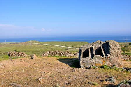 King graves in Gokceada